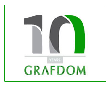 Grafdom Celebrates 10 Years of Digital Success Infographic